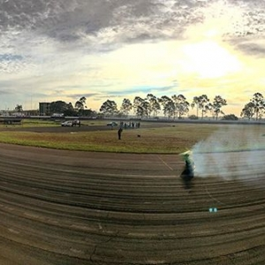 Reverse panoramic shot at @superdriftbrasil Round 2. #superdriftbrasil #drifting #brasil #ghostbutt