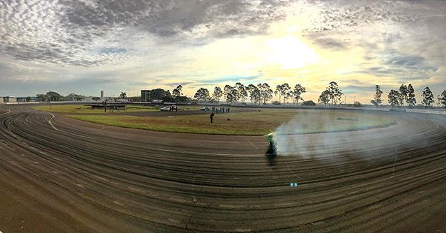 Reverse panoramic shot at @superdriftbrasil Round 2.