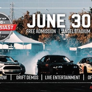 The 6th Annual @NittoTire Auto Enthusiast Day Presented by @DrivingLine is Back! June 30th at Angel Stadium of Anaheim Free Admission | Angel Stadium | 12- 7 PM Car Show | Drift Demos | Live Entertainment | Off Road RSVP: www.autoenthusiastday.com #FormulaDRIFT #FormulaD #FDXV #AutoEnthusiastDay