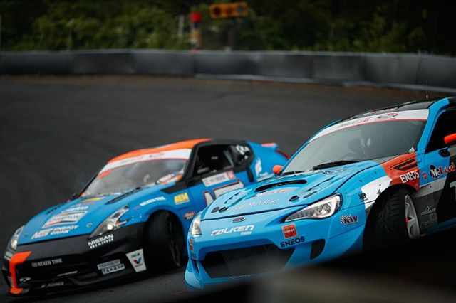 Up close and personal @daiyoshihara | @falkentire vs. @chrisforsberg64 | @nexentireusa | @nosenergydrink  @autozone RD5: Showdown presented by @officialrainx in Monroe, WA on July 20-21. Ticket Here: bit.ly/FDSEA2018