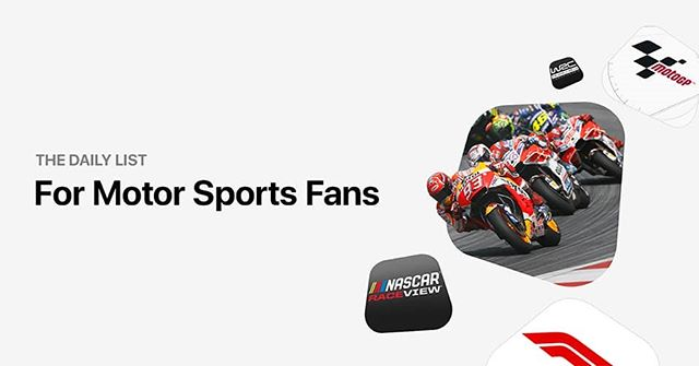 Fan of motorsports?  The has the perfect collection for you: apple.co/ForMotorSportsFansList