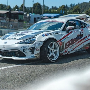 Game day here at Evergreen Speedway! The @greddyperformance @toyotaracing @falkentire #86 is ready for some tandem battles! : @akitakuya @kengushi #BTS #essentials #boostbrigade #toyotanation #falkenspotting