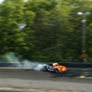 I don't dance now, I make Miata moves @kylemohanracing   @nexentireusa Get ready to Send It at @AutoZone RD5: Throwdown presented by @OfficialRainX in Monroe, WA on July 20-21. Tickets: Link in bio #FormulaDRIFT #FormulaD #FDXV #FDSEA