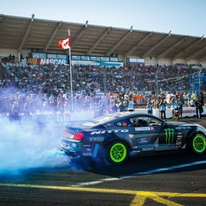 It's a Boy! Congratulations to @VaughnGittinJr who announced the gender of the new addition to his family it typical Vaughn fashion - with @nittotire #FormulaDRIFT #FormulaD #FDXV #FDSEA