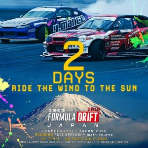 Ride The Wind to The Sun. Only 2 Days until @FormulaDJapan ! Watch the Live Stream July 27 12AM PST | 3AM EST bit.ly/FD2018Live (link in bio) #FormulaDRIFT #FormulaD #FDXV #FDJapan