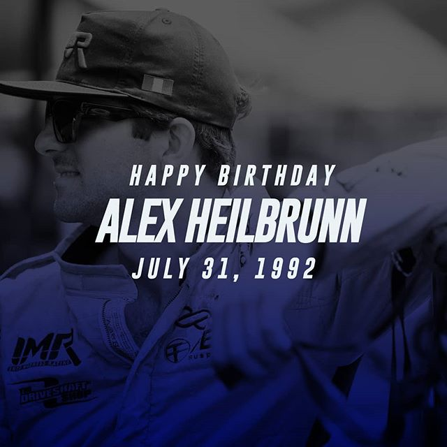 Where's the cake at? It's @alexheilbrunn's birthday!  Party with Alex at @AdvanceAutoParts RD6: Crossroads presented by @OfficialRainX in Madison, IL. on Aug 10-11. Tickets: Link in bio