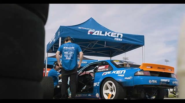 @odidrift here. Make sure to tune into the series on the @donutmedia YouTube channel and FB. New episode following every round! @mattfield777 @falkentire @holleyperformance @hmsmotorsports @takataracing @cobraseats