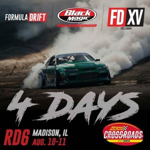 FOURrest Wang more days! @forrestwang808 Counting the days until @advanceautoparts RD6: Crossroads presented by @officialrainx in Madison, IL. on Aug 10-11. Tickets: (link in bio) #FormulaDRIFT #FormulaD #FDXV #FDSTL