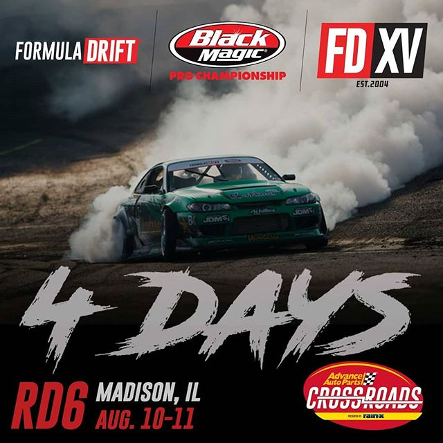 FOURrest Wang more days! @forrestwang808  Counting the days until @advanceautoparts RD6: Crossroads presented by @officialrainx in Madison, IL. on Aug 10-11. Tickets: (link in bio)