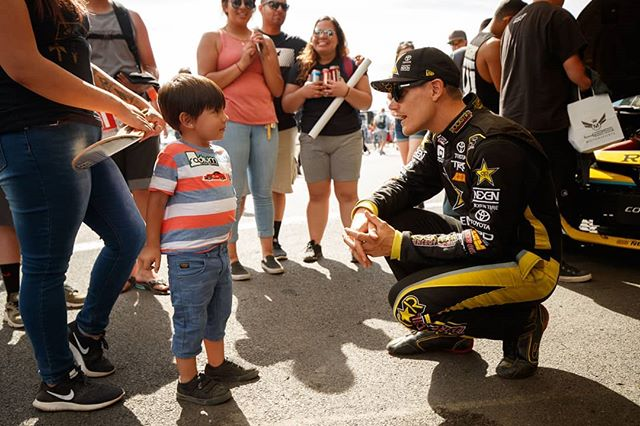 Not all heroes wear capes. @FredricAasbo | @NexenTireUSA  We're here for the fans at @AdvanceAutoParts RD6: Crossroads presented by @OfficialRainX in Madison, IL. on Aug 10-11. Tickets: (link in bio)