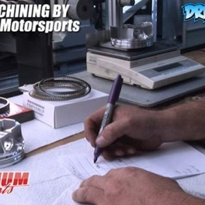 V8 Rebuild - Weighing Pistons - Engine Machining / Assembly by @millennium_motorsports Pistons by @jepistons Video by @driftingcom