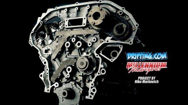 VQ35DE 350Z Engine Rebuild Engine Machining / Assembly by
