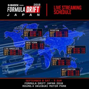 @FormulaDJapan Heads into Round 4. Watch LIVE starting today at 8PM PST: bit.ly/FD2018Live #FormulaDRIFT #FormulaD #FDXV #FDJapan