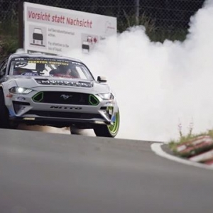 Coming Soon: @VaughnGittinJr and @MustangRTR drift the Nürburgring! #FormulaDrift #FormulaD #FDXV