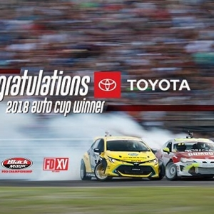 Congratulations to @ToyotaRacing | @ToyotaUSA in Winning the 2018 Auto Cup with a dominant season! Who is Your Favorite Toyota FD Driver? @FredricAasbo | @jcastroracing | @kengushi | @RyanTuerck #FormulaDRIFT #FormulaD #FDXV #FDIRW