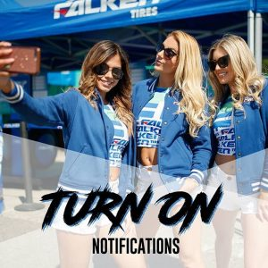 Don't forget to turn on post notifications for @autozone RD7: SHOWDOWN presented by @officialrainx in Fort Worth, TX on Sept. 14-15. Tickets: http://bit.ly/FDTX2018 #FormulaDRIFT #FormulaD #FDXV #FDTX