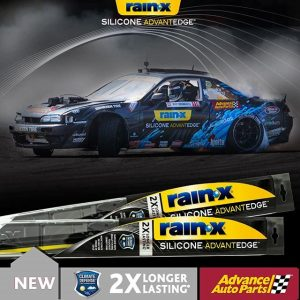 Head over to @advanceautoparts and save $15 when you buy 2 @officialrainx Silicone AdvantEdge wiper blades – the latest innovation from Rain-X! Offer valid 9/27/18 – 10/24/18