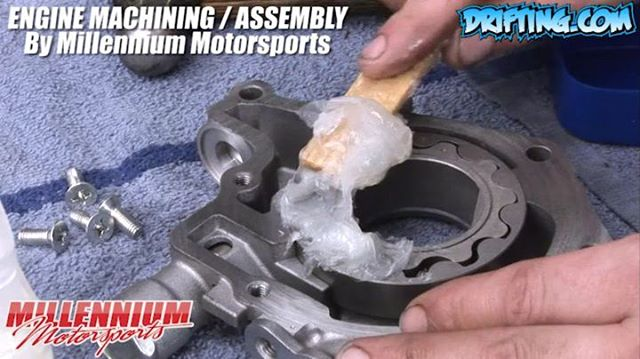 Petroleum Jelly in Oil Pump - 350Z Engine Rebuild - Engine Machining / Assembly by @millennium_motorsports Video by @Driftingcom Project by @nikomarkovich