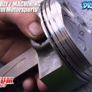 Piston Ring Tips - 350Z Engine Rebuild VQ35DE - Engine Machining / Assembly by @millennium_motorsports  Video by @Driftingcom Project by @nikomarkovich