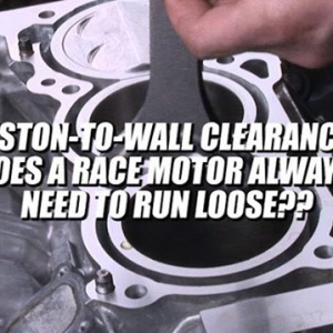 PISTON-TO-WALL CLEARANCE, DOES A RACE MOTOR ALWAYS NEED TO RUN LOOSE? -Engine Machining / Assembly by @millennium_motorsports  Video by @driftingcom