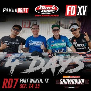 Teamwork makes the Dream Work.  Which FD Team are you rooting for at @autozone RD7: SHOWDOWN presented by @OfficialRainX in Fort Worth, TX on Sept. 14-15? Tickets: (link in bio) #FormulaDRIFT #FormulaD #FDXV #FDTX