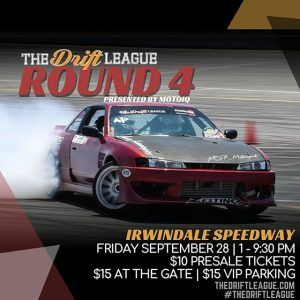 This Friday three drivers will be given their @formulaD PRO2 licenses at @TheDriftLeague. Tag a friend and bring them out to @IrwindaleSpeedway to catch the action. Visit TheDriftLeague.com to purchase tickets. #TheDriftLeague #MotoIQ #FormulaDRIFTProAm #FormulaDRIFT #FormulaD #FDXV #FDIRW