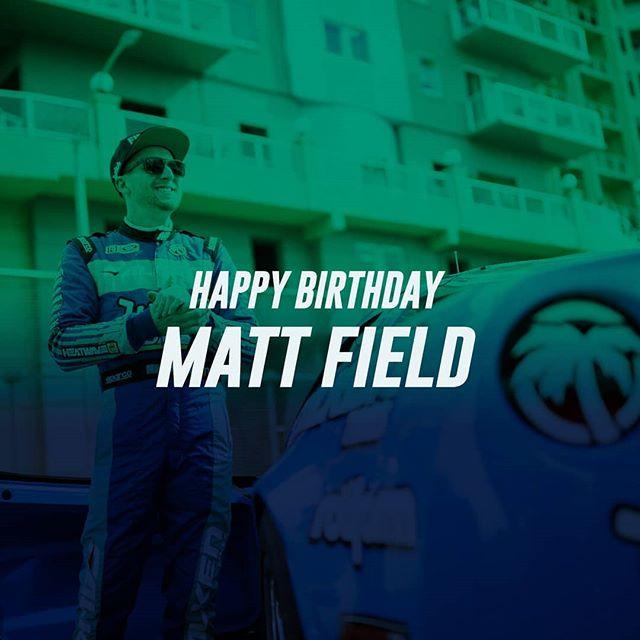 We're having a Field day! Happy Birthday, @mattfield777!