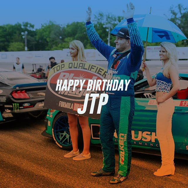 Wish @justinpawlak13  of @falkentire  a Happy Birthday today! Celebrate with him this weekend at @autozone RD7: SHOWDOWN presented by @officialrainx in Fort Worth, TX on Sept. 14-15. Tickets: (link in bio)