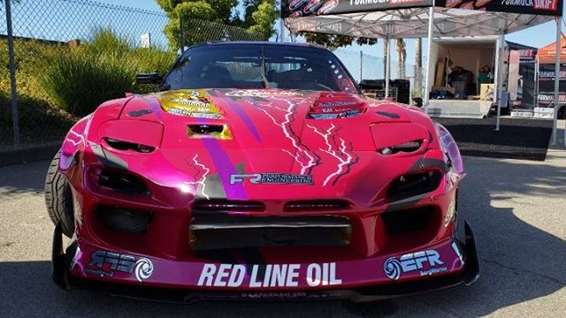 @aaparkah.300 RX7 at Irwindale