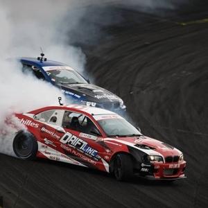 BMW Battle @michaelessa | @achillestire vs. @faruk.kugay | @nexentireusa TAG a BMW owner #FormulaDRIFT #FormulaD #FDXV