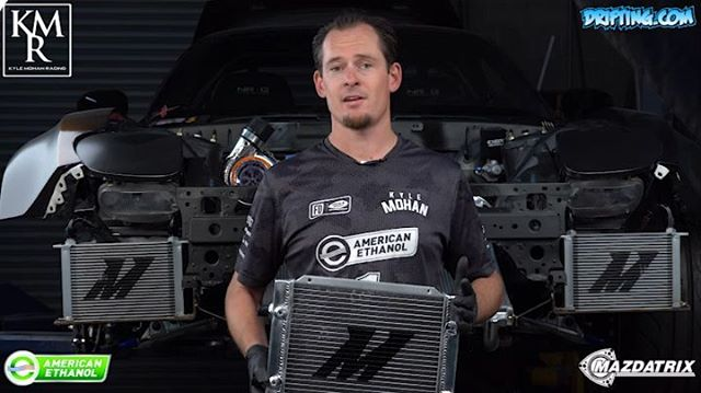 Cooling a Rotary Engine - Rotary Tech Tips by Kyle Mohan @kylemohanracing / Video by @DRIFTINGCOM /Cooling by @mishimoto