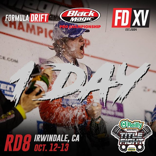 Get ready Irwindale, it's going to be a wild one!  It all comes down to this, at @oreillyauto RD8: TITLE FIGHT presented by @OfficialRainX at Irwindale, CA on Oct 12-13! Tickets: (link in bio)