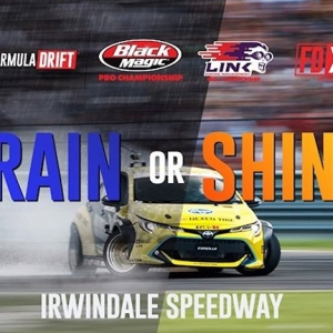 Rain or Shine! Be Ready for #FDIRW competition today! Tickets: bit.ly/FDIRW2018 | Visit our website | At the door #FormulaDRIFT #FormulaD #FDXV