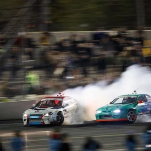 Smokehouse of Drift @PiotrWiecek vs. @OdiDrift | @FalkenTire #FormulaD #FormulaDrift #FDXV