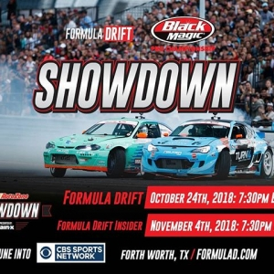 Still missing the #FDXV Season? We've got you covered. Catch @autozone RD7: SHOWDOWN presented by @OfficialRainX only on @CBSSports|Tonight at 7:30PM EST Check your local listings. #FormulaDRIFT #FormulaD #FDTX