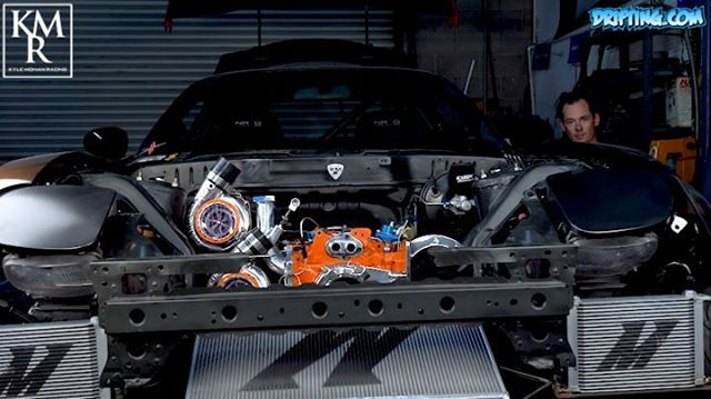 Twin-Turbo RX7 by Kyle Mohan @kylemohanracing Video by @DRIFTINGCOM