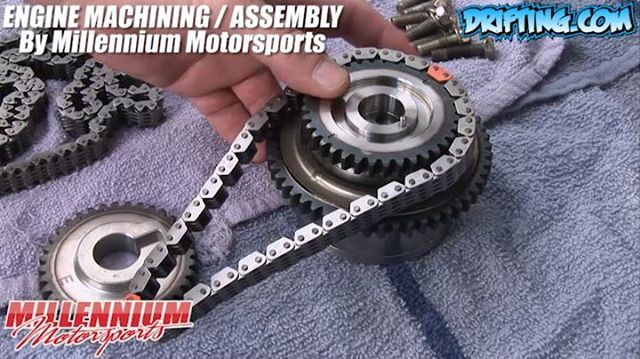 Variable Valve Timing Intake Gear - 350Z Engine Rebuild - Engine Machining / Assembly by @millennium_motorsports Video by @Driftingcom Project by @nikomarkovich