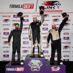 Your #FDIRW Pro 2 Podium: 1st - @bass_gauthier 2nd - @sexsmithdrift 3rd - @crickfilippi #FormulaDRIFT #FormulaD FDXV