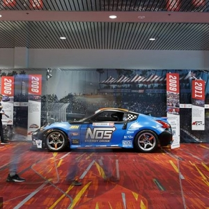 15 Years of Formula Drift celebrated at @SEMASHOW! On display during the show was a historic timeline of our major moments in the sport.  What was your favorite moment in the last 15 years? Visit our website for full coverage (link in bio) #FormulaDRIFT #FormulaD #FDXV #SEMA #DRIFT