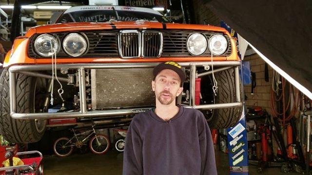 @hateleydrift pulling out his supercharger V8