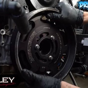 Andy Hateley @hateleydriftpulls out his engine so it can go to Custom Performance Racing Engines @cprenginesfor a rebuild (Video 4)