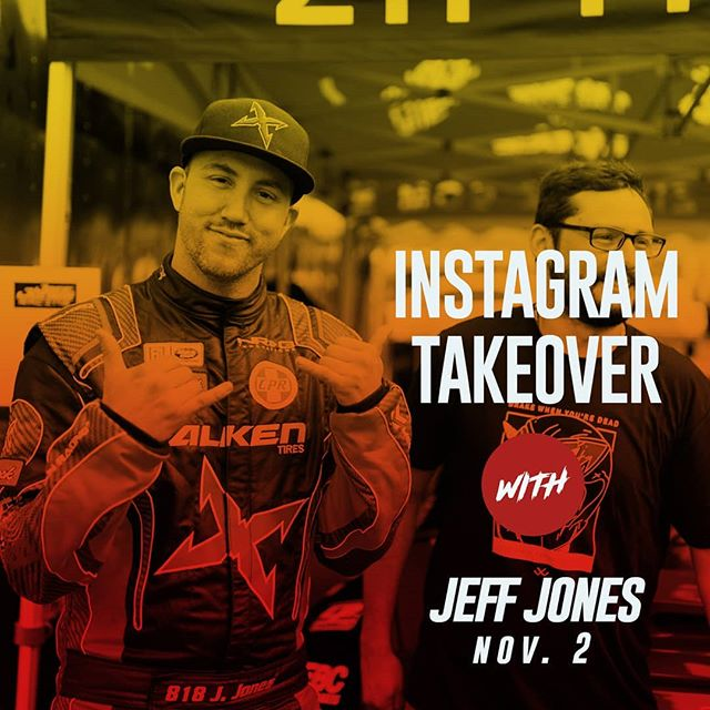 Can you keep up with the Jones? @jeffjonesracing | @falkentire is taking over the feed all day today at SEMA 2018 and through SEMA Ignited!  SEMA attendees: Jones will be signing autographs today at 11am @link_ecu booth 51007 and 12pmat @getnrg booth 24917