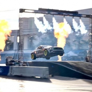 #fordsema was EPIC! There was no better way to end it then send it!!! #donottrythisathome #readytorock