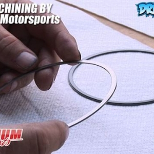 Piston Rings for a supercharged E85 Engine -  Engine Machining / Assembly by @millennium_motorsports Video by @Driftingcom