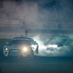 Pitch Black Friday @jamesdeane130 | @falkentire vs. @ryantuerck | @nexentireusa Watch Highlights from our 2018 Season: YouTube.com/FormulaDrift #FormulaDRIFT #FormulaD #FDXV #FDATL