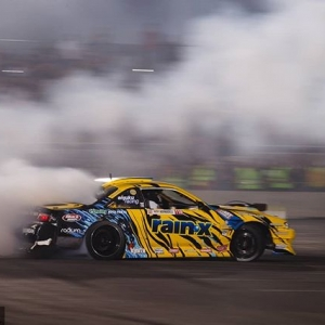 Rushing into the weekend like… @alechohnadel | @nexentireusa Watch Highlights from our 2018 Season: YouTube.com/FormulaDrift #FormulaDRIFT #FormulaD #FDXV #SEMA