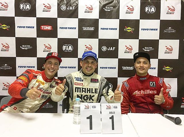 The 2nd @fia_drifting_cup is in the books! Congrats to @gocha_chivchyan in 1st, @ymey_ in 2nd and @schanatpon in 3rd!