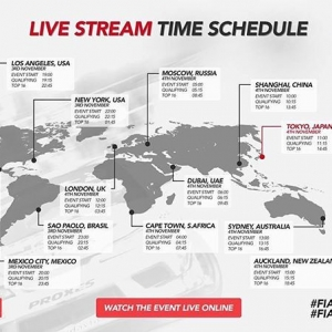 The livestream times for tomorrow's @fia_drifting_cup event in Tokyo! #intercontinentaldriftingcup #fiadriftingcup #drifting