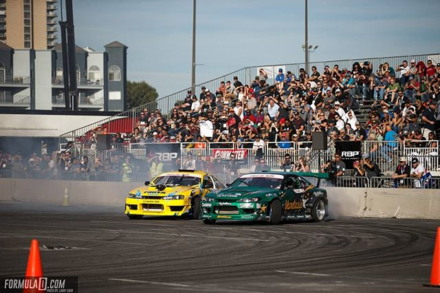To be the best, you have to beat the best! Who are you most excited to see rise to the top for Formula Drift 2019? @forrestwang808 | @achillestire vs. @alechohnadell | @nexentireusa at our Drift Demo after @semashow at @semaignited