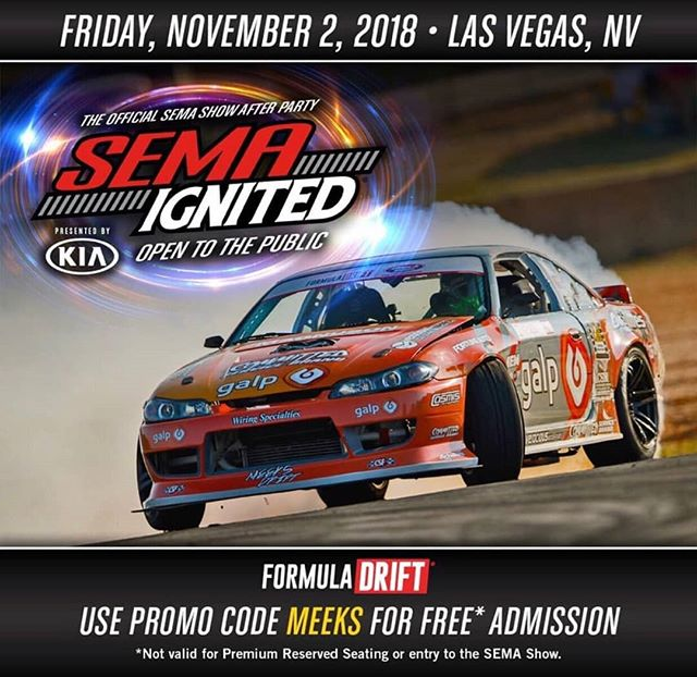 We're about to have us some fun!  See @austinmeeks316 tomorrow night at SEMA Ignited!  Our Complete FD SEMA Guide: (link in bio)